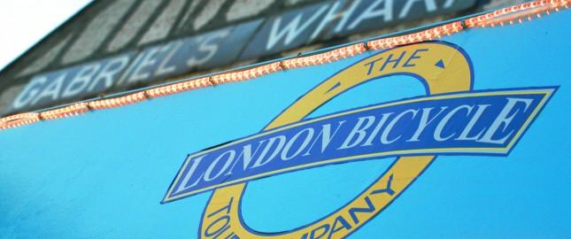 London Bicycle at Gabriel's Wharf, Southbank