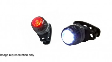 USB rechargeable bike lights